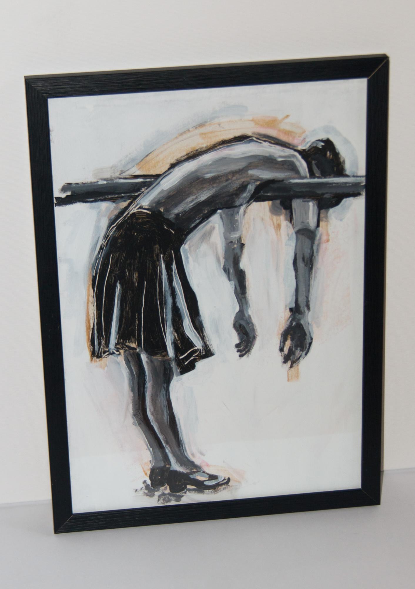 Das Ballett, 29x42cm, Marc Allgaier, 2020