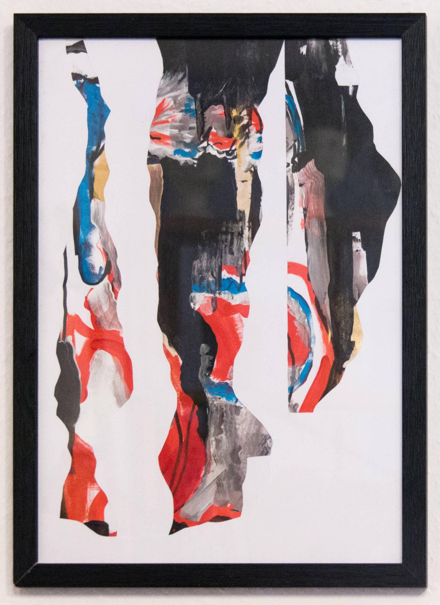Das Zähneputzen, 29,7x42cm, Marc Allgaier, 2021